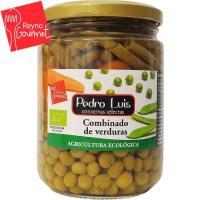 Combinado de verduras ecológicas PEDRO LUIS, frasco 250 g
