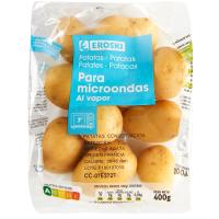 Patata Baby Micro EROSKI, bolsa 400 g