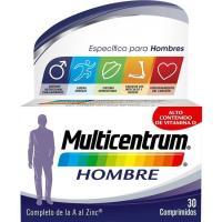 Complemento vitamínico hombre MULTICENTRUM, caja 30 cápsulas