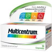 Complemento vitamínico adulto MULTICENTRUM, pack 90 unid.