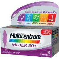 Complemento vitamínico mujer 50+ MULTICENTRUM, caja 90 unid.
