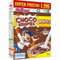 Cereales Bolitas KELLOGG`S Choco Krispis, caja 375 g