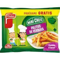 Palitos de verdura FINDUS, bolsa 250 g