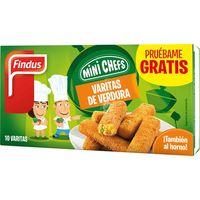 Varitas de verdura FINDUS, caja 284 g
