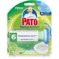 Wc discos activos lima PATO, aparato + recambio, pack 1u