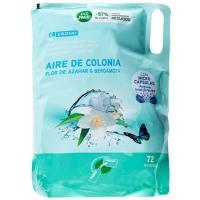 Suavizante ecopack aire de colonia EROSKI, bolsa 72 dosis