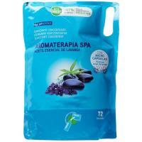 Suavizante ecopack aromaterapia spa EROSKI, bolsa 72 dosis