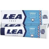 Crema de afeitar piel sensible LEA, tubo 150 g