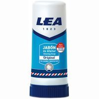 Barra de jabón de afeitar piel sensible LEA, stick 50 g