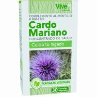 Cardo mariano advance vegetal VIVE+, caja 30 unid.