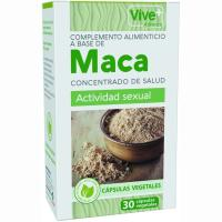 Maca advance vegetal VIVE+, caja 30 unid.