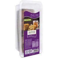 Plum cake con choco chips AIROS, paquete 300 g