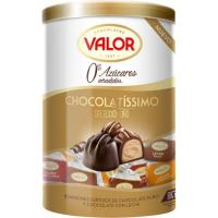 Chocolatissimo sin azúcares añadidos Oro VALOR, lata 200 g