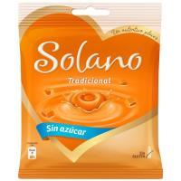 Caramelo tradicional sin azúcar SOLANO, bolsa 99 g