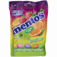 Caramelos masticables de fruta MENTOS, bolsa 160 g