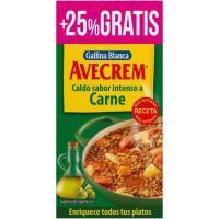Caldo de carne AVECREM, 8+2 pastillas, caja 100 g