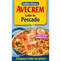 Caldo de pescado AVECREM, 8 pastillas, caja 80 g
