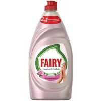 Lavavajillas a mano rosa-saten FAIRY, botella 500 ml