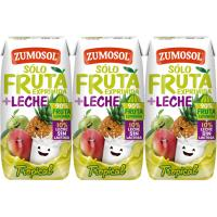 Lactozumo tropical ZUMOSOL, pack 3x200 ml