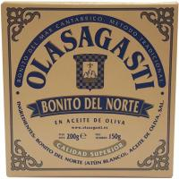 Bonito en aceite de oliva OLASAGASTI, lata 200 g