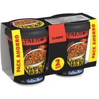 Yakisoba classic YATEKOMO, cup pack 2x93 g