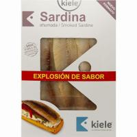 Sardina ahumada KIELE, bandeja 70 g