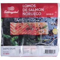 Porciones de salmón SEKKINGSTAD, bandeja 375 g