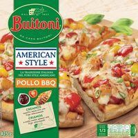 Pizza americana Style de pollo-bbq BUITONI, caja 425 g