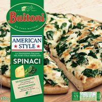 Pizza americana Style Spinachi BUITONI, caja 430 g