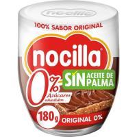 Crema de Cacao 0% azúcar añadido NOCILLA, frasco 190 g
