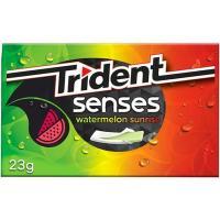 Chicle de sandía TRIDENT Senses Lc, paquete 23 g