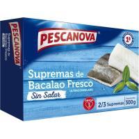 Supremas de bacalao PESCANOVA, caja 300 g
