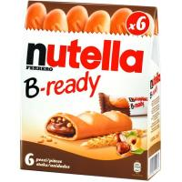 Galleta T-6 B-ready NUTELLA, caja 132 g