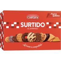 Galleta surtida CUÉTARA, caja 420 g