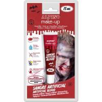 Maquillaje de sangre artificial, tubo 15ml ALPINO, 1 ud