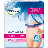 Pants Plus M TENA Lady, paquete 9 unid.