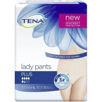 Pants Plus L TENA Lady, paquete 8 uds.