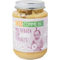 Puré de frutas-cereales COMME-BIO, tarro 200 g