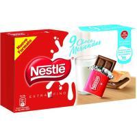 Chocolate extrafino merienda NESTLÉ, caja 180 g
