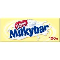 Chocolate blanco MILKYBAR, tableta 100 g