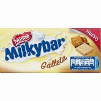 Chocolate blanco con galleta MILKYBAR, tableta 100 g