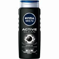 Gel de ducha Active Clean NIVEA Men, bote 500 ml