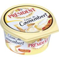 Crema de queso Camembert PRESIDENT, tarrina 125 g
