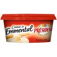 Crema de queso Emmental PRESIDENT, tarrina 125 g