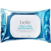 Toallitas exfoliantes belle, paquete 20 unid.