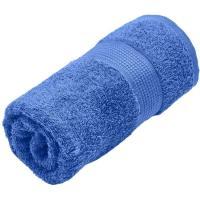 Toalla de lavabo azulon 100% algodón 420gr/m2 EROSKI, 50x90cm