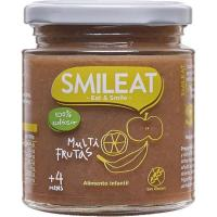 Potito multifrutas ecológicas SMILEAT, tarro 230 g