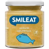 Potito de verduras con merluza ecológico SMILEAT, tarro 230 g