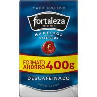 Café molido descafeinado FORTALEZA, paquete 400 g