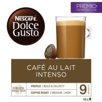 Café con leche intenso NESCAFÉ Dolce Gusto, caja 16 monodosis